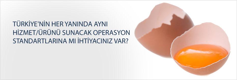 Türkiye'nin her yanında aynı hizmet/ürünü sunacak operasyon standartlarına mı ihtiyacınız var?